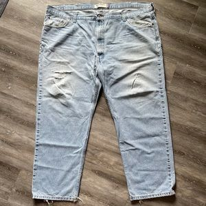 LEVIS Relaxed Fit Mens Jeans Size 50